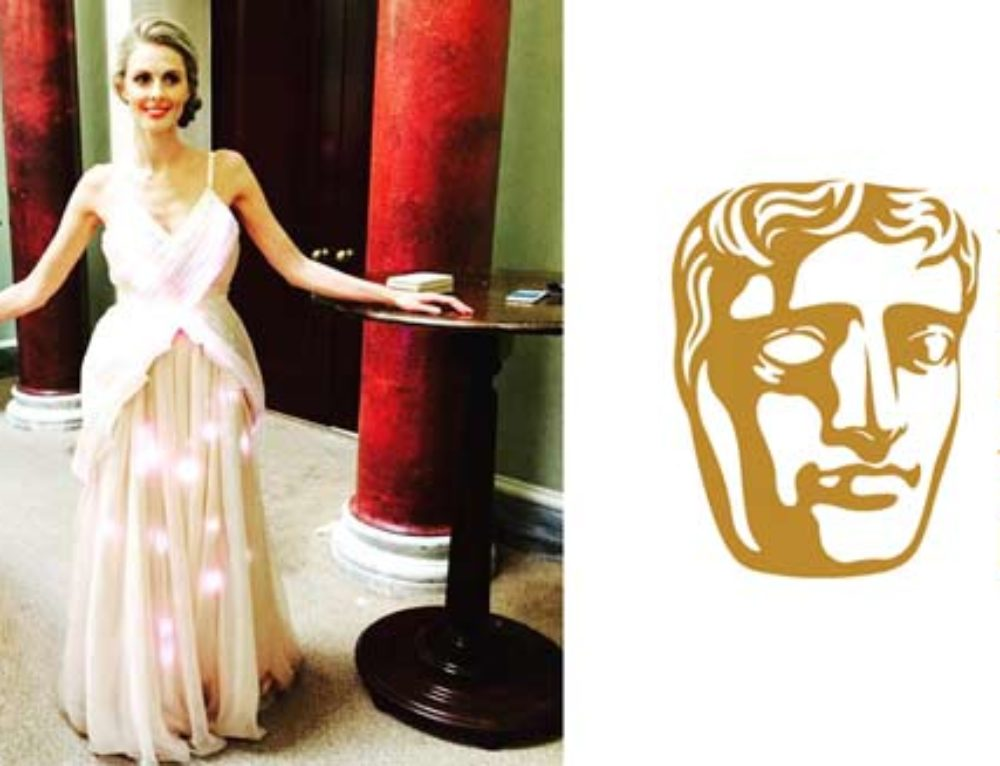 Donna Air at the BAFTA Awards