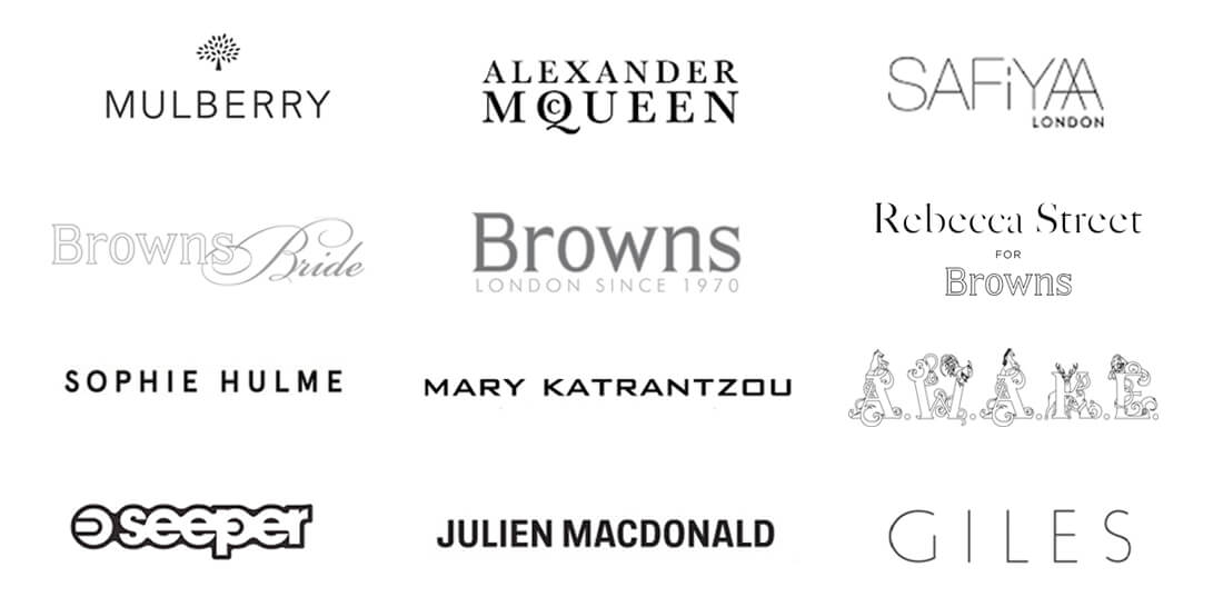 Brands Rebecca Street Has Worked With